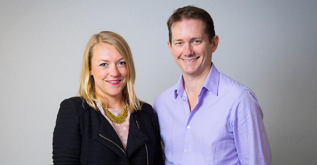 Jana Kusick and Brett Poole on plista Australia's 1 year anniversary