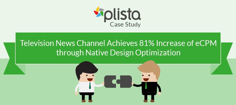 Case Study Publisher Native Design Optimization