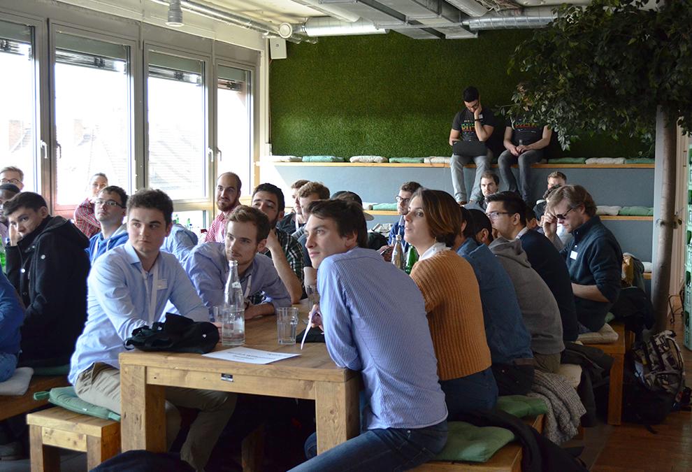 BTS Students at plista office: introduction of plista