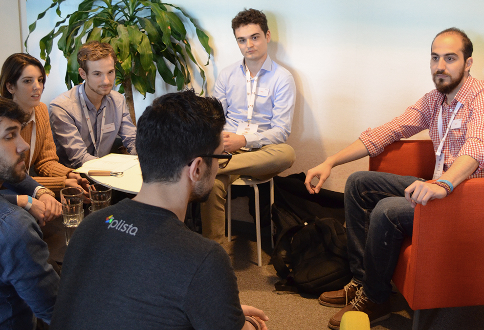 IT Workshop at the plista office: Team Leo