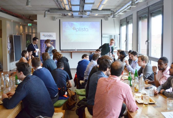 Berlin Talent Summit 2016: plista introduction in our office