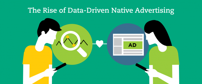 Image 1: Our new infographic shows you how the Rise of Data Driven Native Advertising can help you achieve your advertising goals.