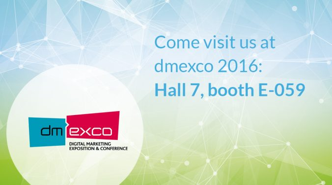 The time has come and the dmexco 2016 will open its doors. plista will also be there again in hall 7, booth E-059. MAKE AN APPOINTMENT NOW!