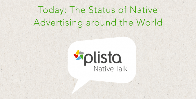 US, Canada, APAC, EMEA & more: Watch the plista Native Talk #1 to learn more about the status of native advertising around the world.
