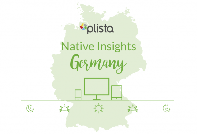 plista Native Insights: Our new infographic gives useful information about the device usage and ad consumption behavior in Germany.